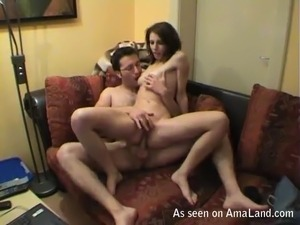 husband films wife black cock