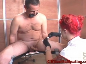 video female boobs torture