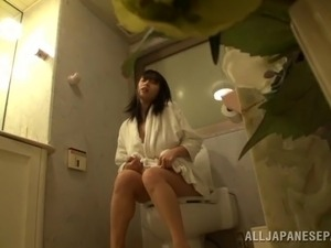 slut toilet lick video