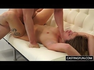 slut bikini girl casting slut load