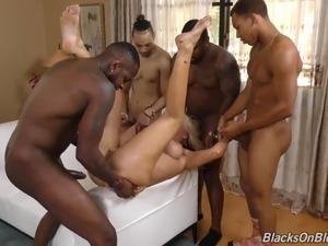 amateur black gangbang spankwire