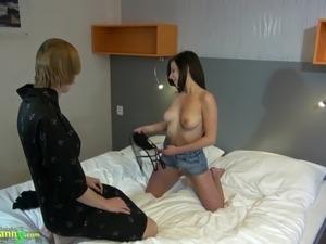porn video mature lesbian redhead teen