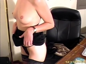 wife in body stocking video