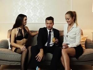 threesome sex orgy