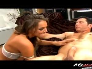 Sexy nylon ass