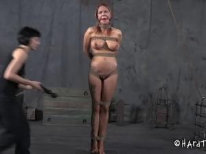 tit torture interracial black cock
