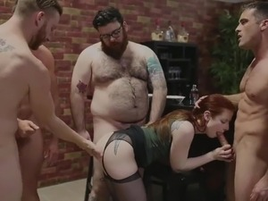 extreme rough bizzare oral anal gangbang
