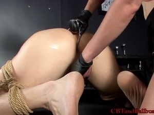 femdom extreme anal insertions video