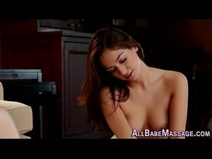 Hot massage sex video