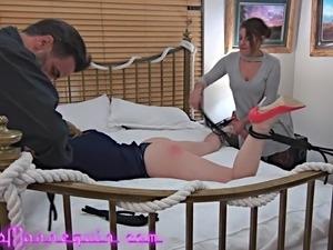 Lesbian sex spanking