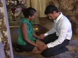 birthday spanking sex with wife