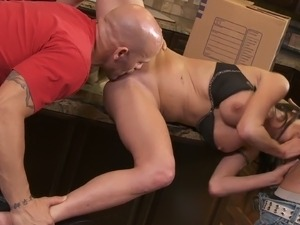rough threesome porn free