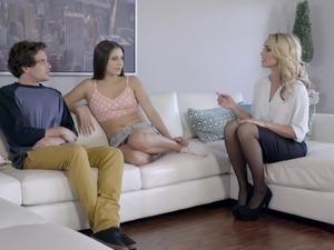 view kariann threesome video