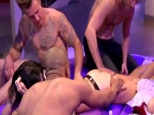 Naked girl massage video