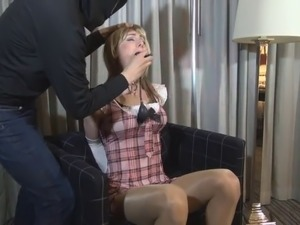 crossdress douche enema anal sex