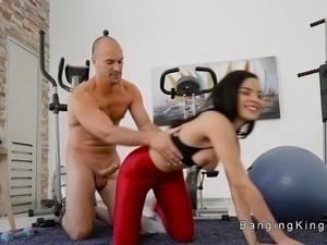 moster cock on petite ladyboy