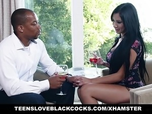 wife erotic massage husband watches