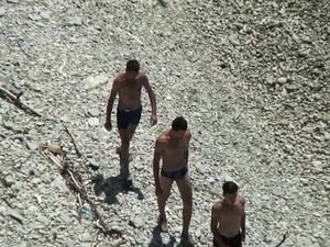 nude topless beach movies