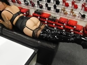 sexy girls in leather boots