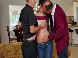 free porn old man young girl