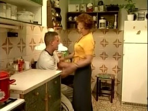 anal sex kitchen counter
