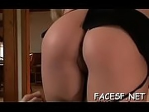 facesitting shaved pussy