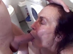 cum swallow wife video