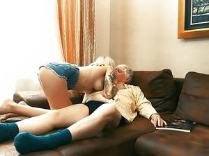 old man on girl porn