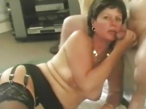 wife swallows cum video
