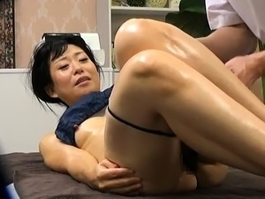 Girl massage on girl