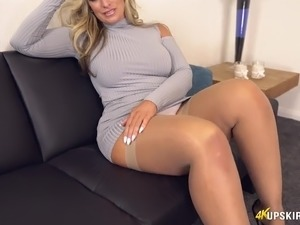 Stockings Fap Vid