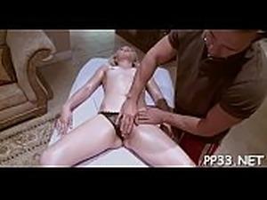 wife massaged naked