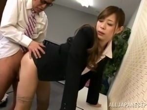 office girls threesome
