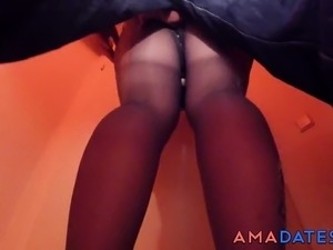 nylons for young girls