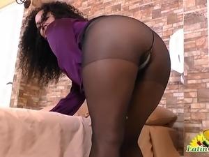 pantyhose secretary pussy