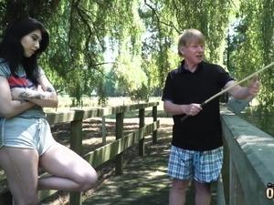outdoor anal gangbang videos