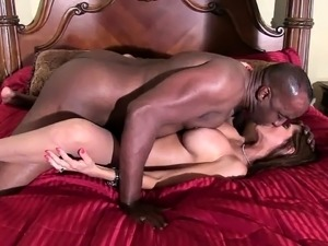 Interracial hardcore sex