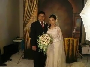 S caught wedding naked bride