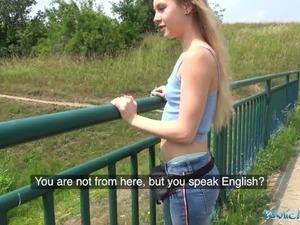 jenna blow job facial outdoor teen