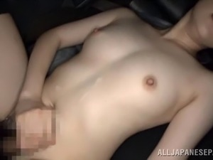 Teen fuck in car