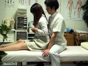 amateur video wife massaging husband