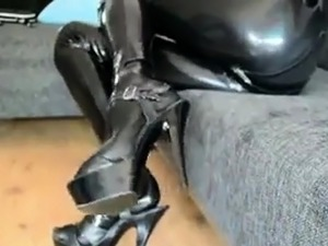 erotic equine latex ponygirl