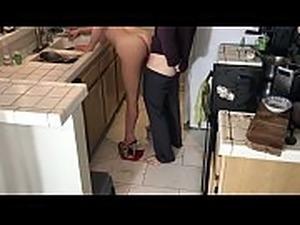 xxx kitchen fuck