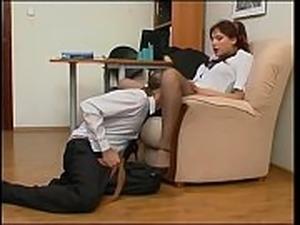 sexy secretaries anal video
