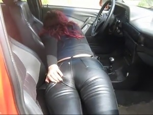 black leather chaps fuck