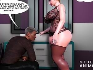 free frigid wife sex lesson cartoons